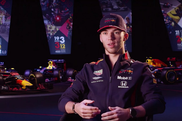 Gasly hoopt veel te leren van teamgenoot Verstappen: 'Hij zit al langer in dit team'
