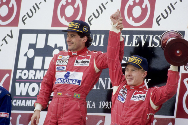 Berger kiest geen Hamilton of Schumacher: 'Senna beste coureur die ik heb gezien'