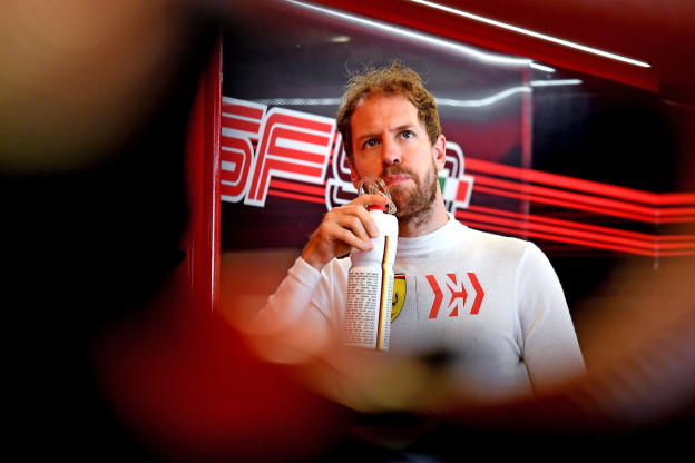 Vettel dag eerder in actie op Barcelona