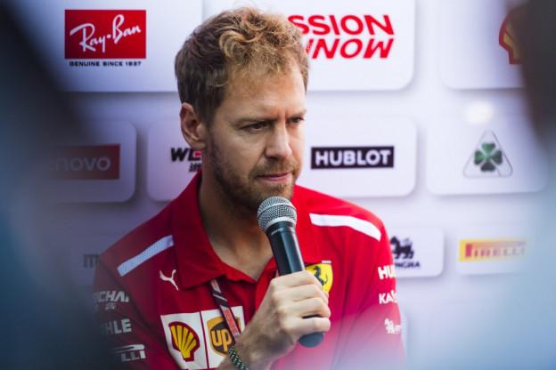 Vettel in zijn nopjes met eerste testdag: 'Perfecte start gemaakt'
