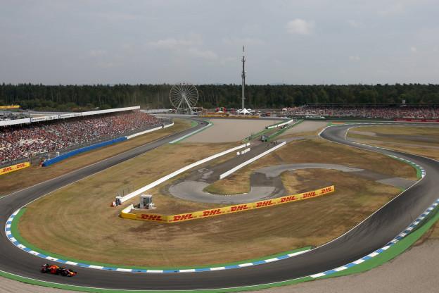 Overzicht tijden Grand Prix van Duitsland