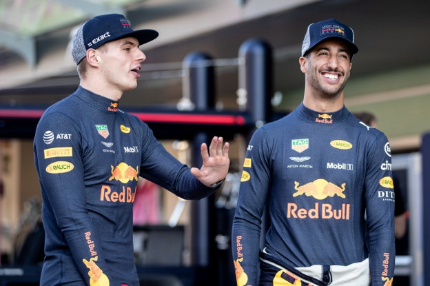 Ricciardo: 'Verstappen en ik hebben geweldige tijd gehad ondanks rivaliteit'