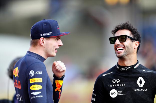 Ricciardo weet het zeker: 'Op basis van talent kan Max wereldkampioen worden'