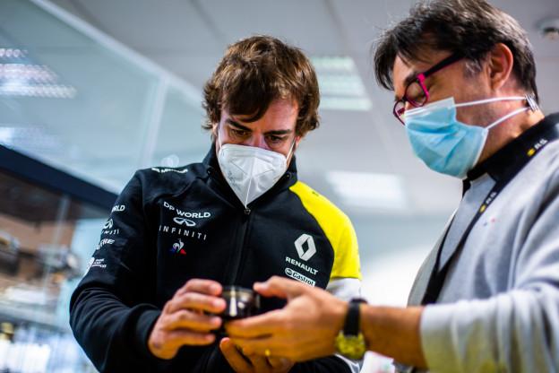 Update | Alonso bedankt Renault voor Formule 1-test in Barcelona