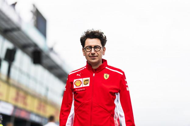 Ecclestone kritisch: 'Binotto niet de goede leider voor Ferrari'