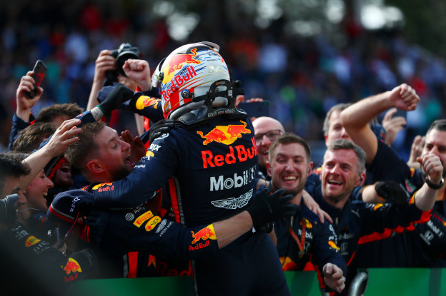 Palmer: 'Verstappen heeft briljant gereden, Honda-motor was sneller dan Mercedes'