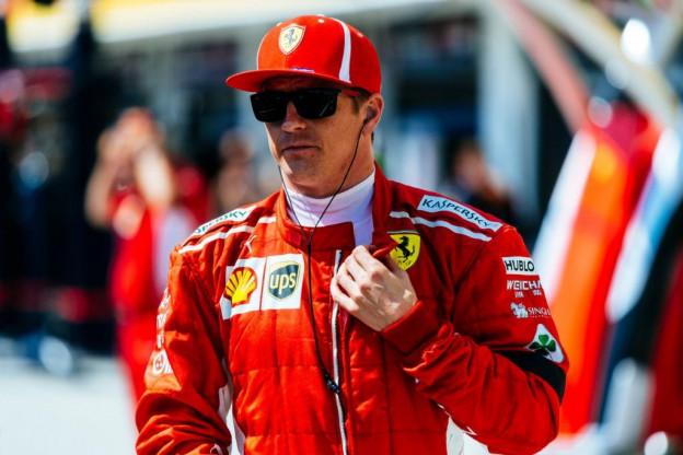 Raikkonen: 'Ik had schade, straf voor Verstappen is helemaal terecht'