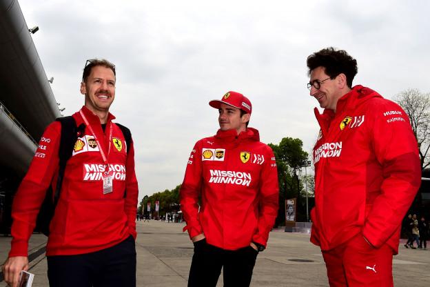 Saward: 'De rest van de grid wacht nu op Vettel'