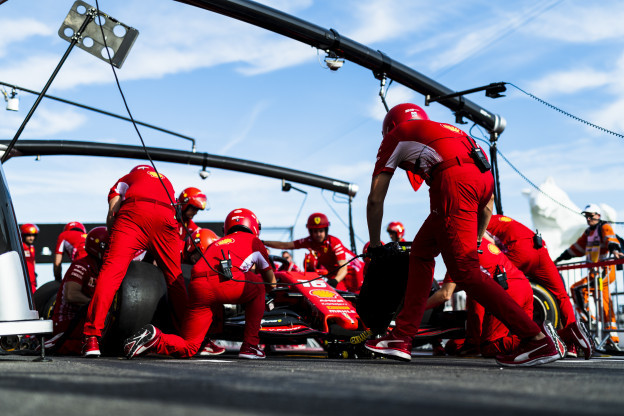 Opvallende woorden Binotto: 'Leclerc was sneller dan de personen achter hem'