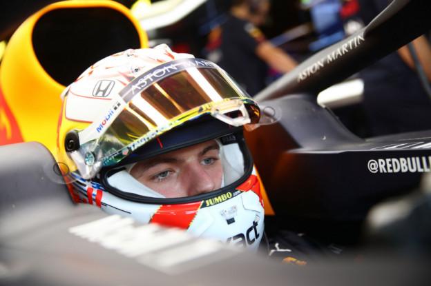 Verstappen onthult: 'Problemen met Honda-motor in tweede vrije training'