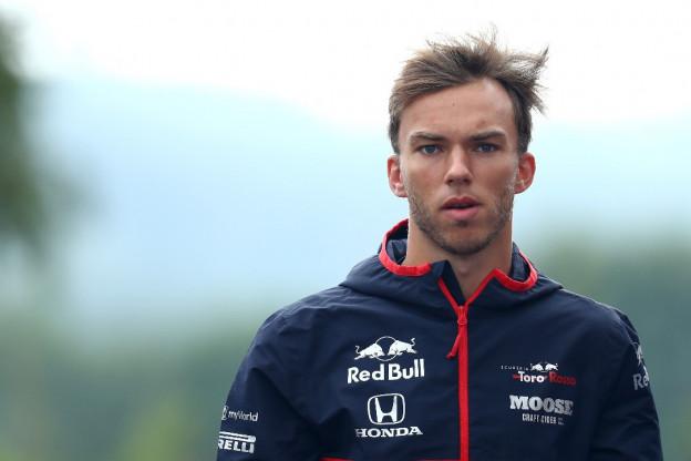 Gasly moet wennen bij Toro Rosso: 'Sta voor uitdagende tijden'