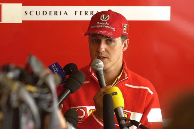 Schumacher: 'Heb afgesproken om niets over Michael's conditie te zeggen'