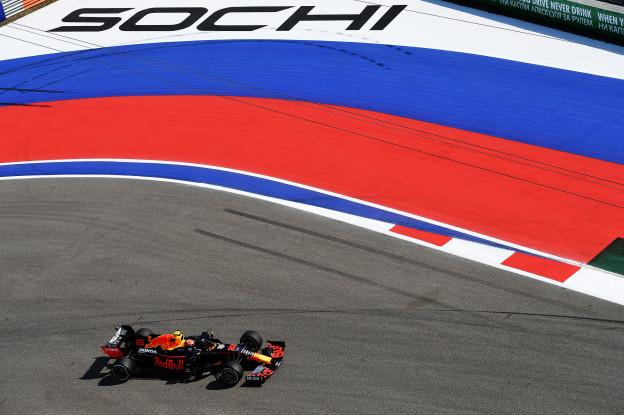 De Grand Prix van Rusland zie je live bij Ziggo Sport!