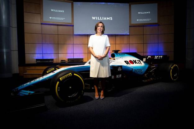 Williams licht nieuw design toe: 'Wilde een levendig uiterlijk en dat is gelukt'