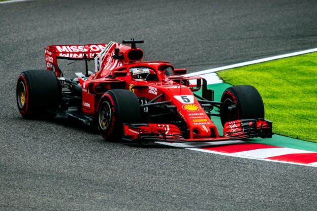 Vettel: 'Ik ben blij dat we op schootsafstand zijn'