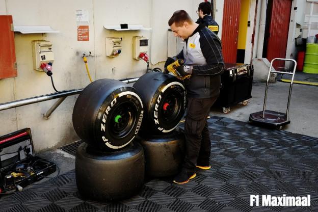 Pirelli biedt bij gebrek aan tijd alle coureurs dezelfde bandensets aan