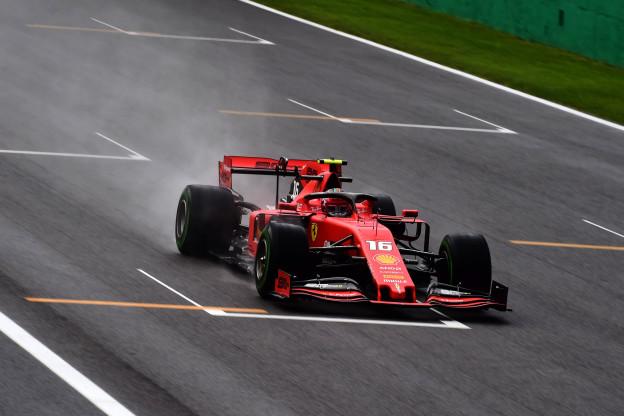 Knotsgek einde kwalificatie leidt tot poleposition Leclerc in Monza