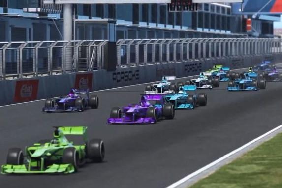 Barrichello wint The Race Legends Trophy, Van Buren pakt in extremis podium