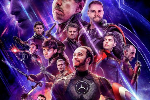 Ondertussen in de F1 | Formule 1 maakt geniale fotoshop: Verstappen in Avengers