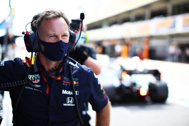 Horner wil graag strijd aangaan met Mercedes: 'Red Bull is operationeel sterk'