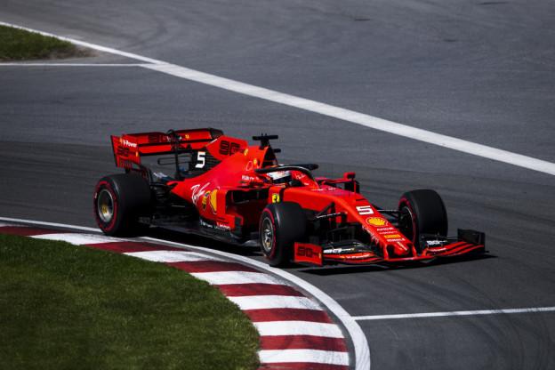 Uitslag derde vrije training Grand Prix van Canada