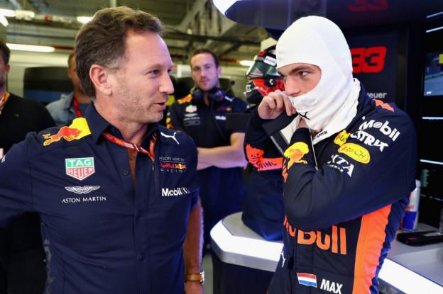Horner heeft vertrouwen in Verstappen: 'Hamilton en Vettel zijn bang'