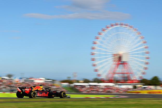 Overzicht tijden Grand Prix van Japan 2019
