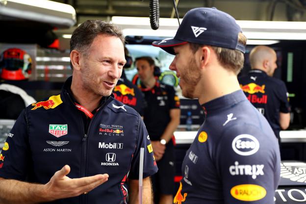 Gasly en Horner eensgezind: 'Erg goed herstel vanaf achtste plek na gridstraf'