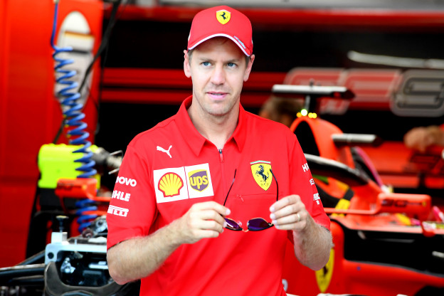 Vettel wordt liever niet vergeleken met Schumacher: 'Helpt mij niet'