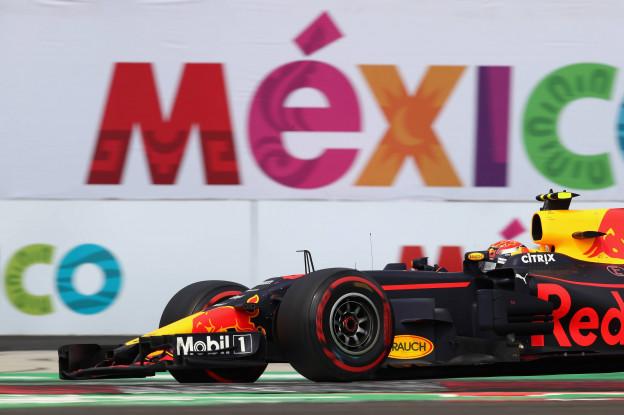 De voorlopige startopstelling voor de Grand Prix van Mexico