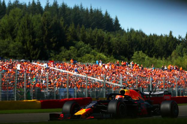 Brundle: 'Verstappen was ongeduldig bij racestart België'