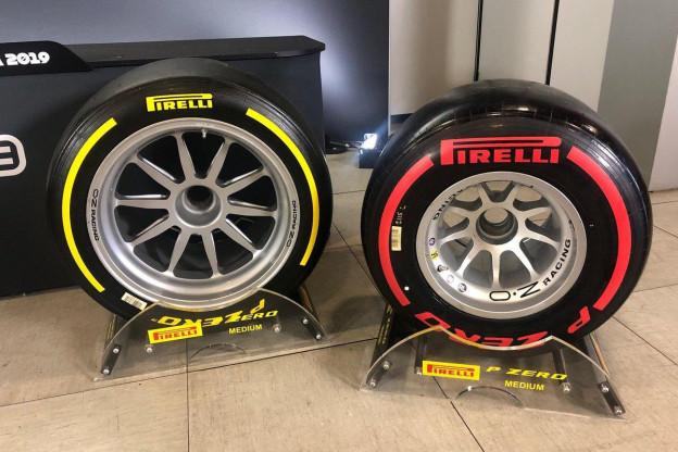 Pirelli stopt met testen van 18-inch banden