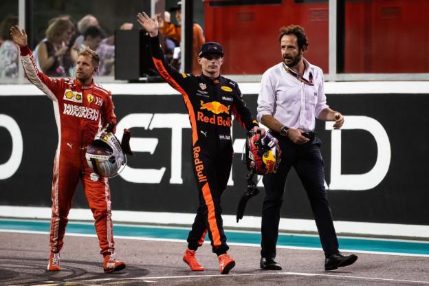Palmer heeft advies voor Vettel: 'Kan een voorbeeld nemen aan Verstappen'