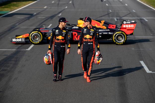 Ricciardo en Gasly komen sinds Canada 2018 niet in de buurt van Verstappen