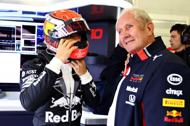 Horner blij voor Gasly: 'Leek een andere coureur en liet zich niet afleiden'