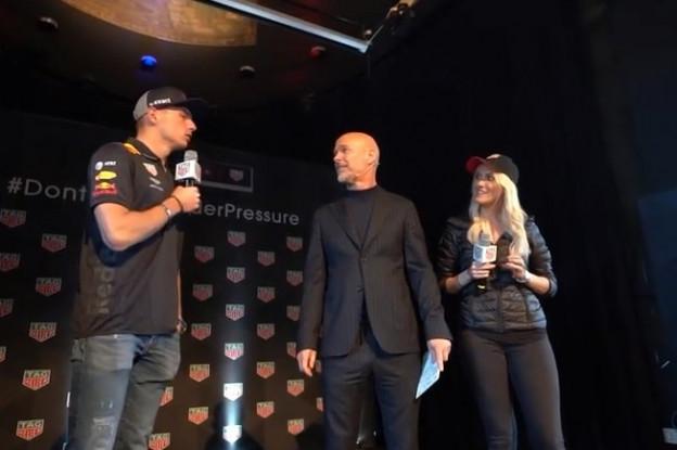 Video   Supercar Blondie geeft Verstappen compliment: 'Je bent een klein lekker ding!'