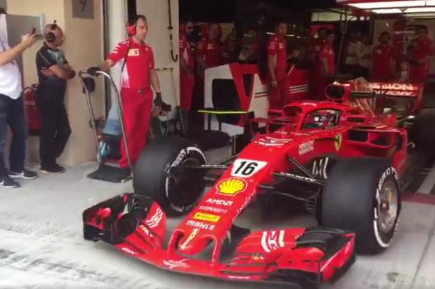 'Personeel van Vettel verhuist naar garage van Leclerc'