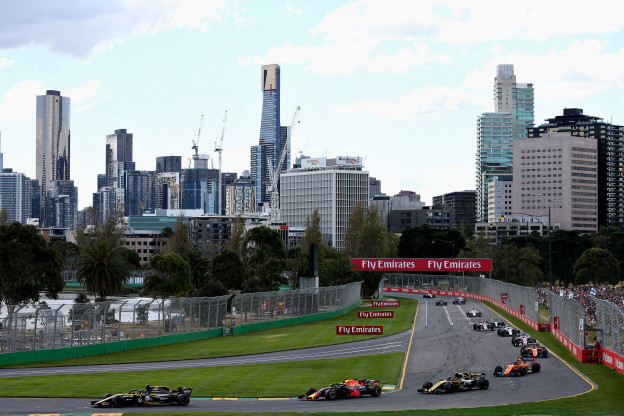 Overzicht tijden Grand Prix van Australië 2020