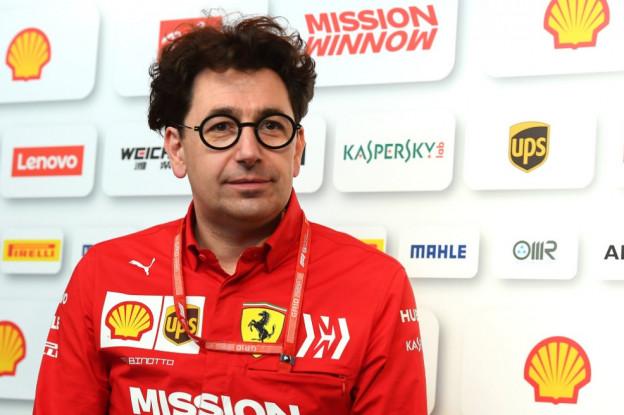 Binotto realistisch over Ferrari-prestaties: 'Sebastian heeft een fout gemaakt'