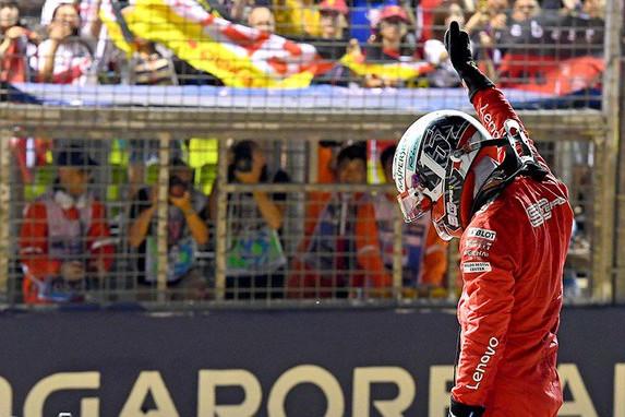 Leclerc over 'wilde' pole position: 'Hadden niet verwacht Mercedes of Red Bull uit te kunnen dagen'