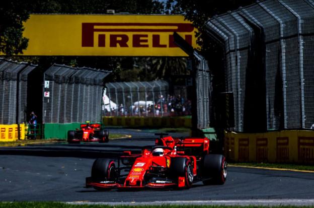 'Ferrari heeft problemen van Australië getraceerd en weten op te lossen'