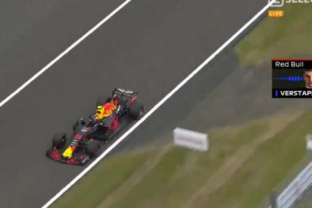 Update | Verstappen op de boordradio: 'Ze zijn lekker bezig voor het racen'
