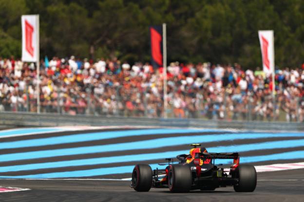Eerste vrije training Grand Prix van Frankrijk | Verstappen eindigt op P4