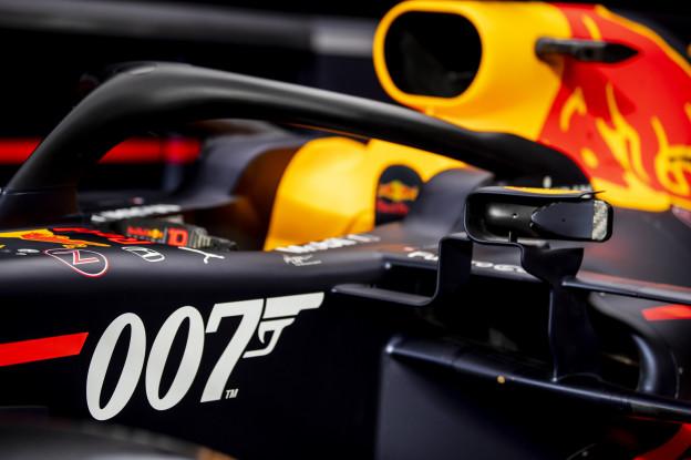 Waarom Red Bull Racing met een 007-livery rijdt op Silverstone