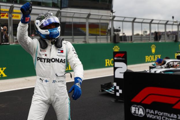Bottas geeft strijd om wereldtitel nog niet op
