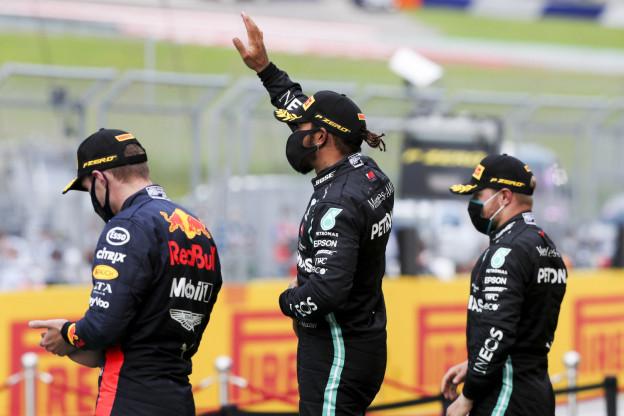 Verstappen klimt naar P2 in 'Power Rankings' van Formula 1