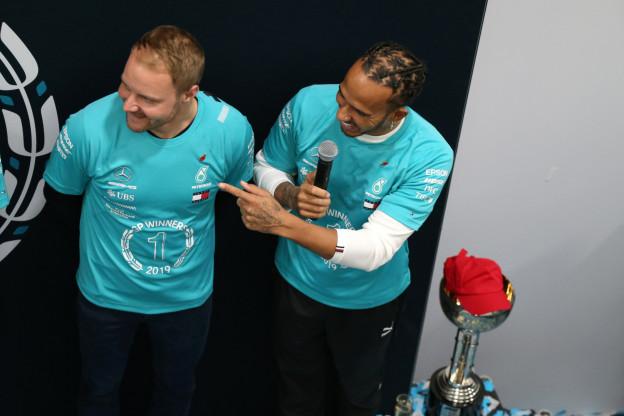 Bottas over zijn WK kansen in 2020: 'Ik weet dat ik Lewis kan verslaan'