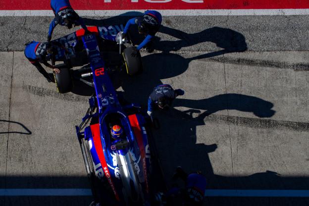 Nieuwe voorvleugel moet Toro Rosso nog meer topsnelheid geven