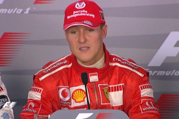 Schumachers kampioensauto uit 2002 geveild tijdens GP Abu Dhabi