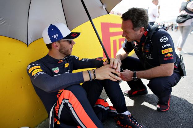 Tost: 'Kvyat is Red Bull-coureur in bruikleen, Gasly heeft tijd nodig'